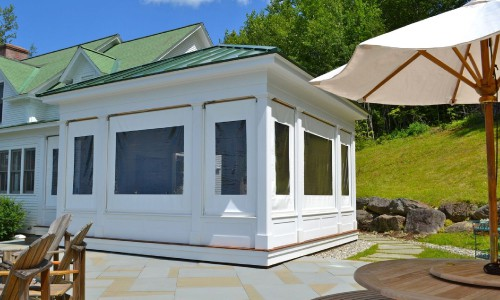 Exterior Solar Shades Vermont|Porch Shades VT|Energy Saving Shades