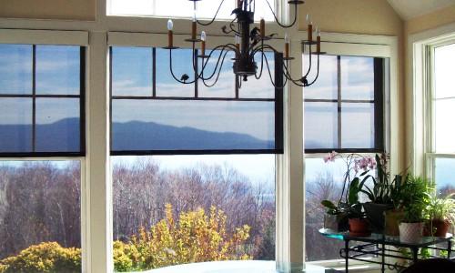 Interior Solar Shades Vermont Vt Interior Solar Window Shades