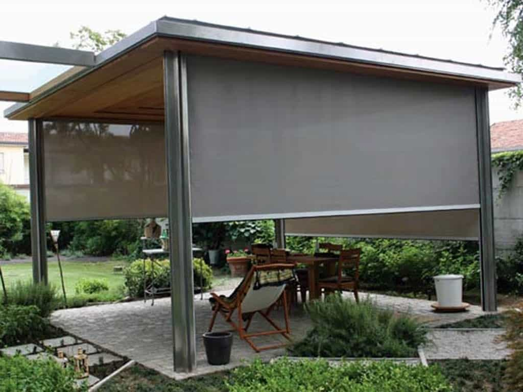 Solar Screens Guide, Otter Creek Awnings Around Patio