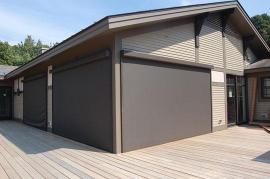 Exterior Solar Shades Vermont Porch Shades Vt Energy