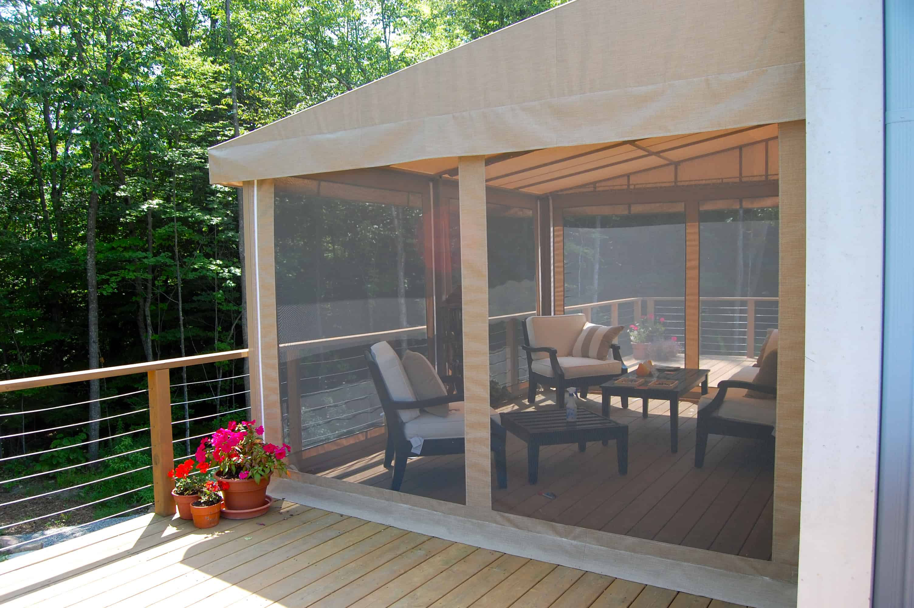 Retractable Awning With Bug Screen 28 Images Solar And
