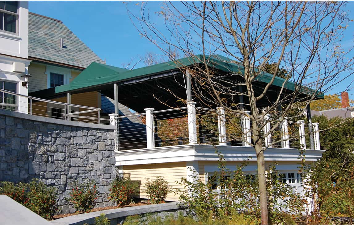 Deck canopies archives otter creek awnings - Shade canopy for deck ...