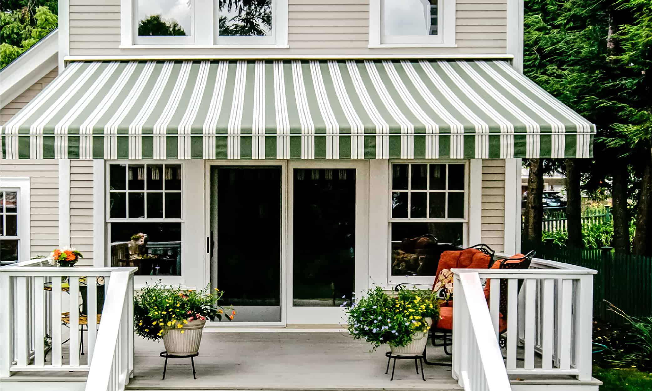 Retractable Awnings Vermont|VT Retractable Patio Awnings ...